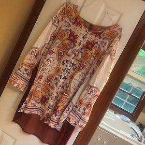 Aratta Gorgeous tunic top